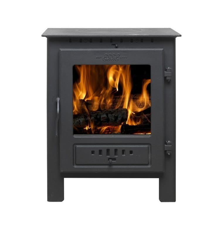Esse One Wood Burning - Multi Fuel Defra Approved Stove:  Living room by Direct Stoves