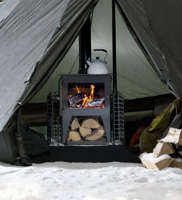 Esse Campesse Wood Burning - Multi Fuel Stove:  Living room by Direct Stoves