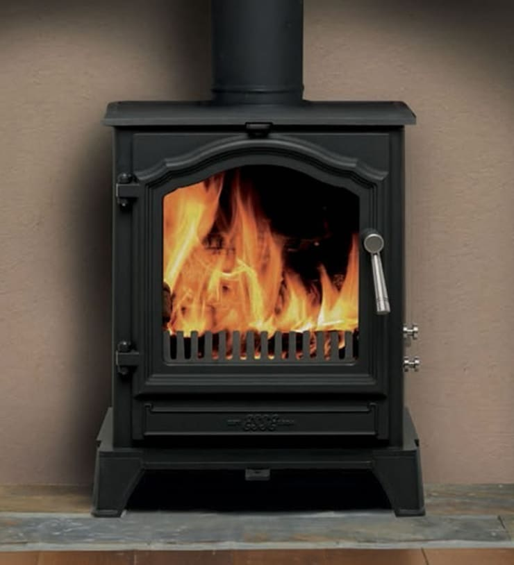 Esse 500 Vista SE Wood Burning - Multi Fuel Defra Approved Stove:  Living room by Direct Stoves