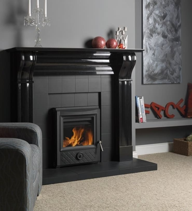 Esse 301SE Traditional Inset Wood Burning - Multi Fuel DEFRA Approved Stove:  Living room by Direct Stoves