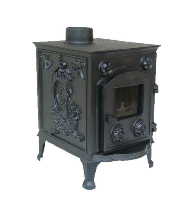 Evergreen Orford Multifuel Stove:  Living room by Direct Stoves