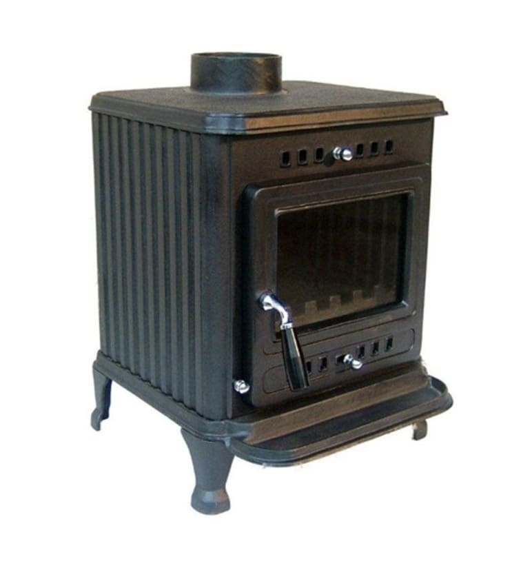 Evergreen Lark Multifuel Stove:  Living room by Direct Stoves
