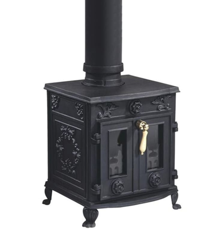 Evergreen Constable Double Door Multifuel Stove:  Living room by Direct Stoves