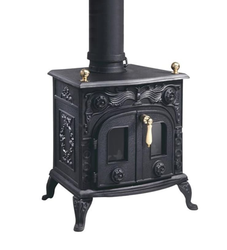 Evergreen Flatford Multifuel Stove:  Living room by Direct Stoves