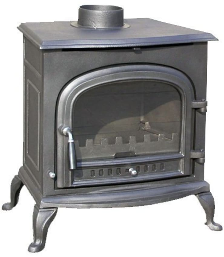 Evergreen Aldeburgh Multifuel Stove:  Living room by Direct Stoves