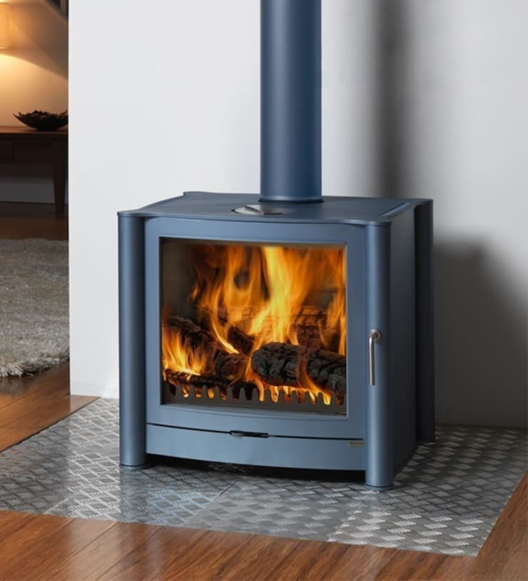 Firebelly FB3 Woodburning Stove:  Living room by Direct Stoves