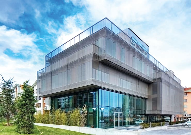 Avci Architects – AVCIARCHITECTS_02_EXTERIOR_DAY:  tarz Ofis Alanları