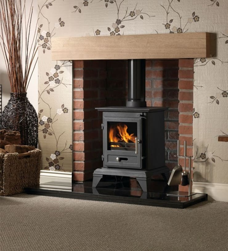 Gallery Classic 5 Wood Burning and Multi Fuel Defra Approved Stove:  Living room by Direct Stoves
