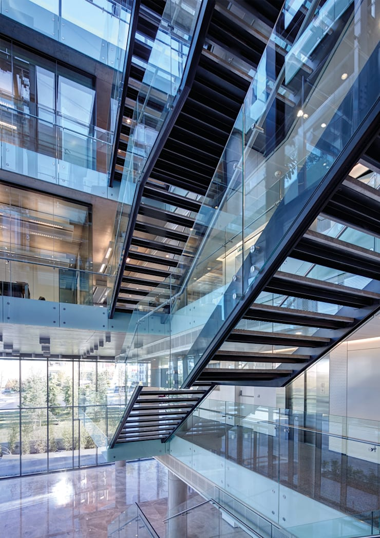 Avci Architects – AVCIARCHITECTS_07_ENTRENCE:  tarz Koridor ve Hol