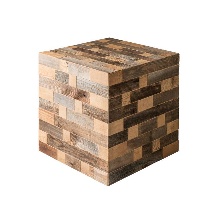 Cubo Foses: Arte in stile  di Wood Art Cortina