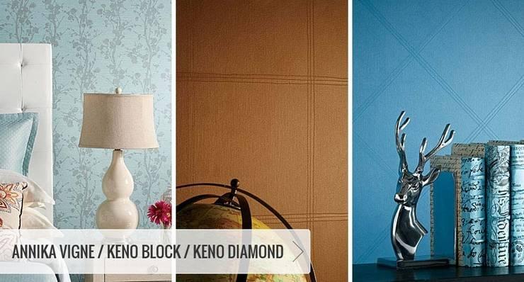 SK Concept Duvar Kağıtları  – Annika Vigne - Keno Block - Keno Diamond:  tarz Duvarlar