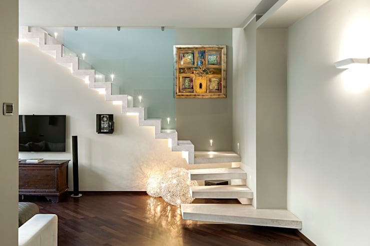 Salas / recibidores de estilo moderno por studiodonizelli
