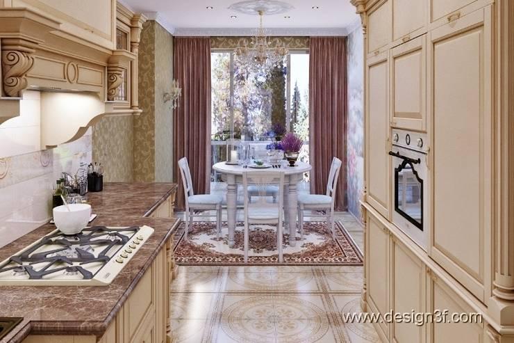 кухня: Кухни в . Автор – студия Design3F,