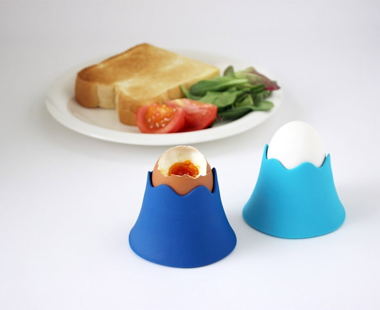 FUJISAN EGG CUP:  Kitchen by Rin crossing
