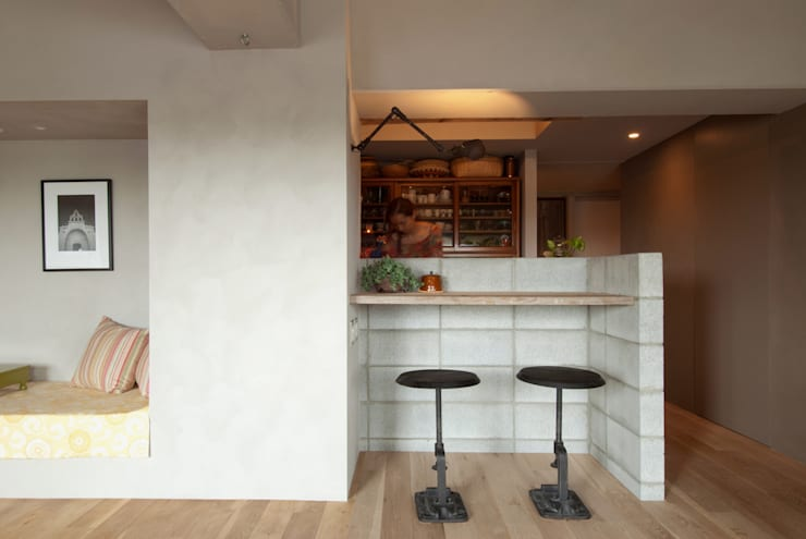 غرفة السفرة تنفيذ TATO DESIGN:タトデザイン株式会社
