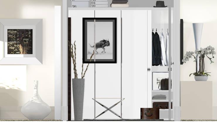 Architecture d'intérieur - Appartement Bordeaux, France: Dressing de style  par Sandra Hisbèque