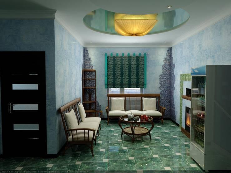 Массажный кабинет в Спа - Салоне: Спа в . Автор – Дизайн студия 'Exmod' Павел Цунев