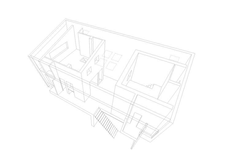 3Dスケッチ: Kondohideo Architects co,;ltd.が手掛けたです。