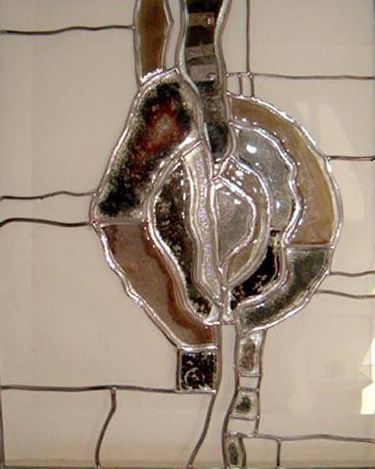 Camkanatlar – Füzyon Cam İle Kurşunlu Vitray:  tarz Sanat