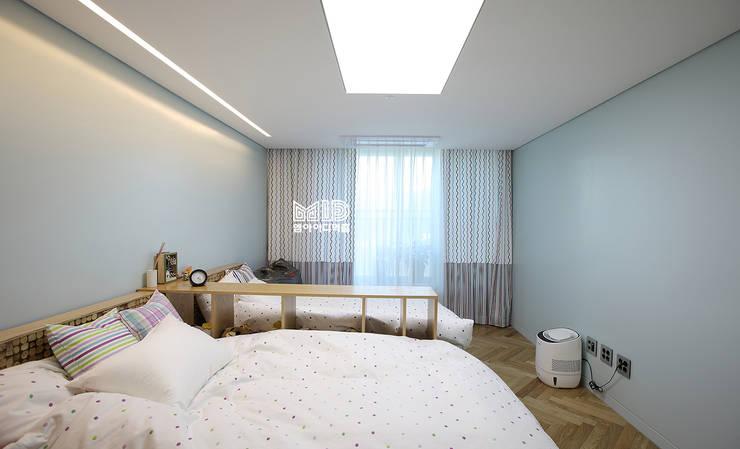 경기도 과천시 원문동 삼성래미안 슈르아파트 50평형: MID 먹줄의  아이방