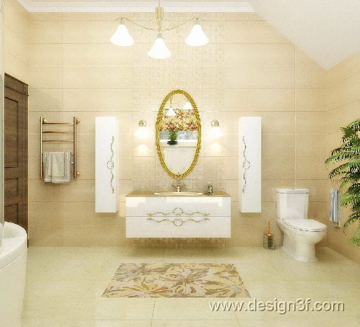 Bathroom by студия Design3F