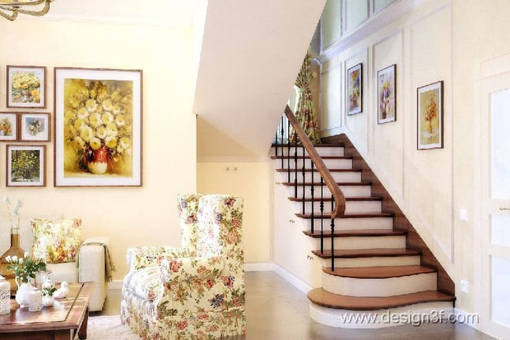 Living room by студия Design3F