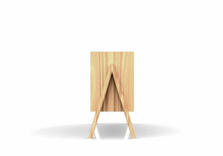 Achille: Soggiorno in stile  di Luca Toniolo Architetto,