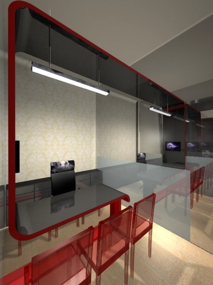 Dheeraj East Coast Dubai:  Commercial Spaces by SOM design