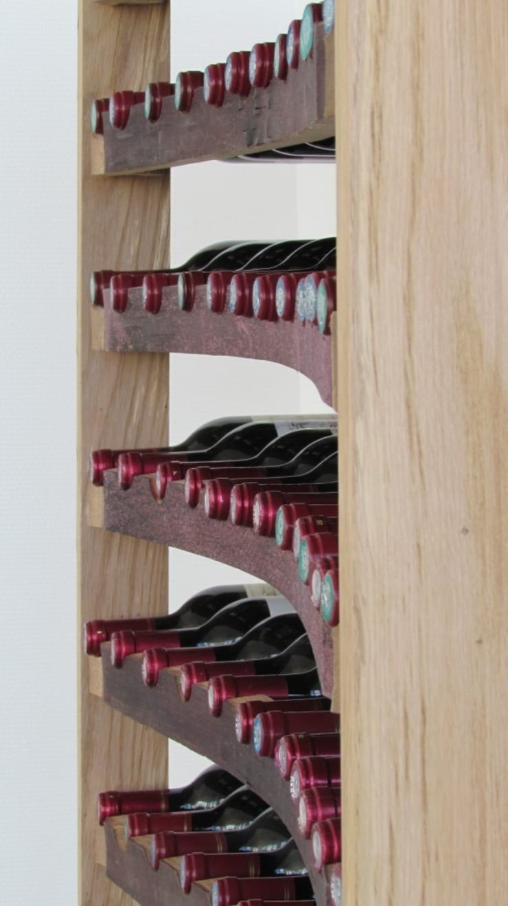 Cave à vins 100% chêne: Cave à vin de style  par Jerôme Bouteille
