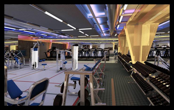 Gravity Gym:  Gastronomy by SOM design