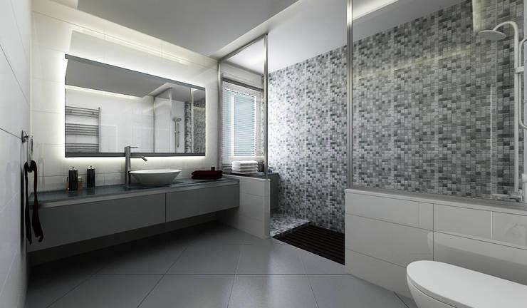 Baños de estilo moderno por Niyazi Özçakar İç Mimarlık