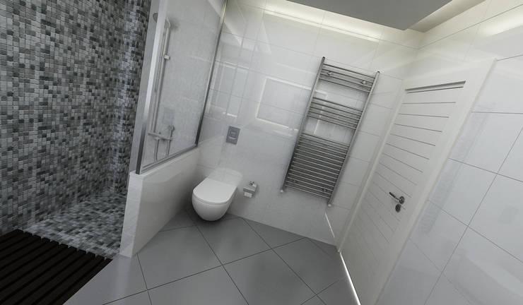 Niyazi Özçakar İç Mimarlık – E.K. EVİ:  tarz Banyo