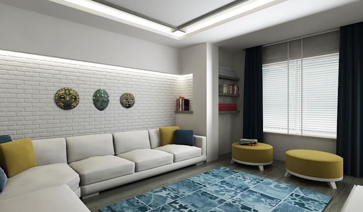 Phòng khách by Niyazi Özçakar İç Mimarlık