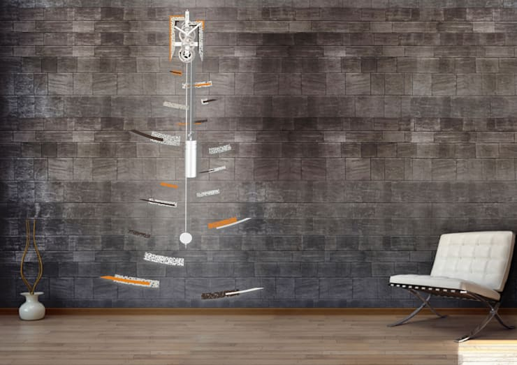 Pendule - Impulsion: Maison de style  par Jerome Elie