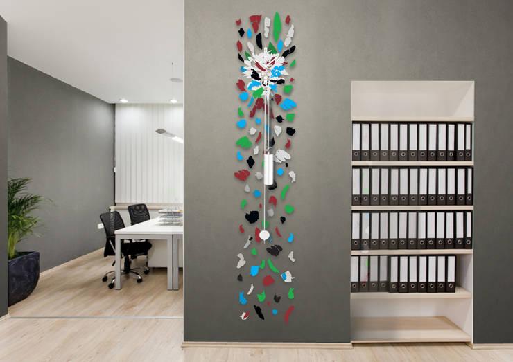 Pendule - Eclat: Maison de style  par Jerome Elie