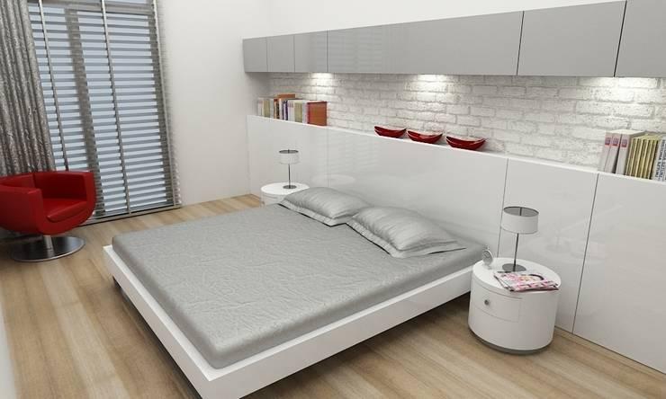 Niyazi Özçakar İç Mimarlık – Z.Ç. EVİ:  tarz Yatak Odası