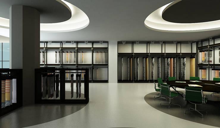 Niyazi Özçakar İç Mimarlık – İşbay Tekstil:  tarz Ofisler ve Mağazalar