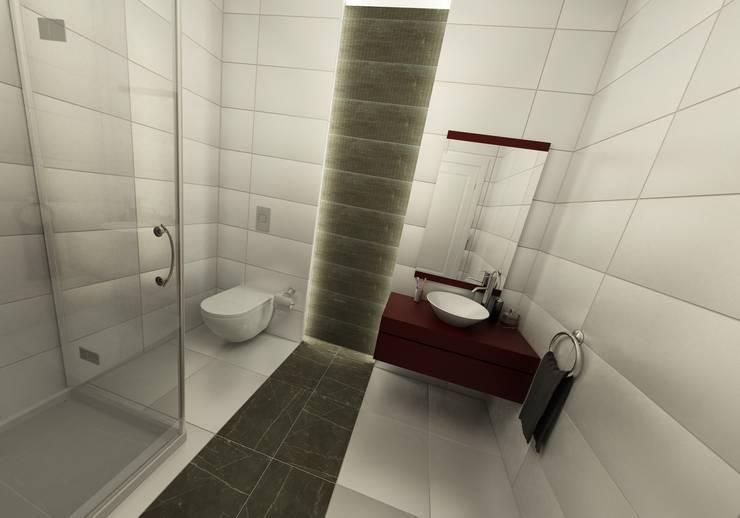 Niyazi Özçakar İç Mimarlık – METROKENT BURSA:  tarz Banyo