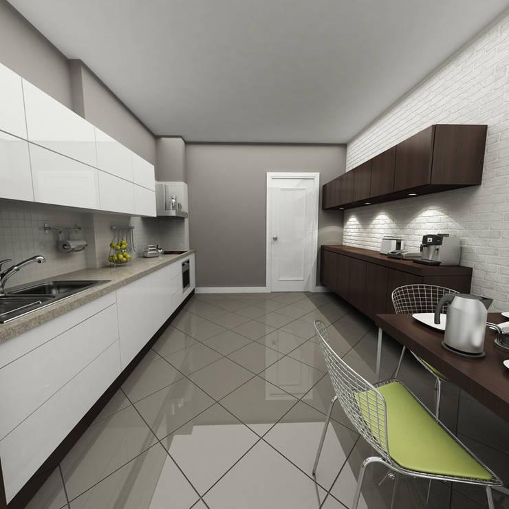 Küche von Niyazi Özçakar İç Mimarlık