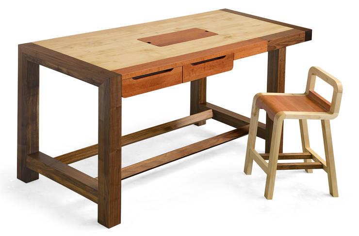 "Banco da cucina ""Falegname"":  in stile  di SLOW WOOD - The Wood Expert, Scandinavo"