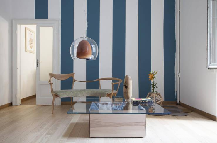 Projekty,  Salon zaprojektowane przez SLOW WOOD - The Wood Expert