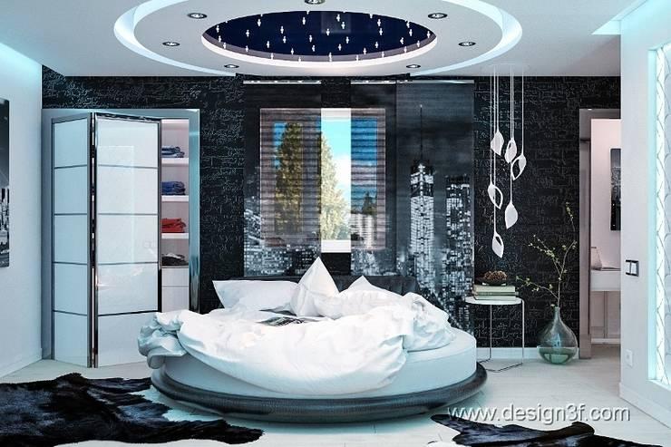 Camera da letto in stile  di студия Design3F