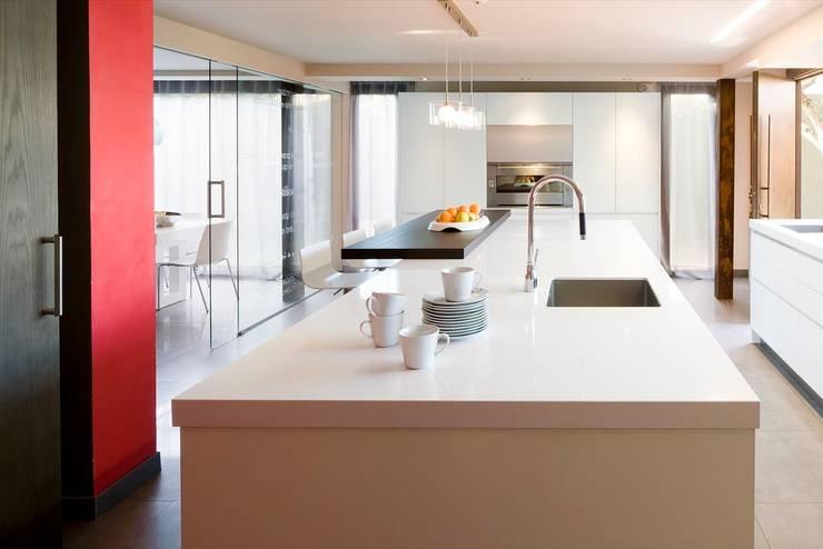 Cocinas modernas con office: diseño español