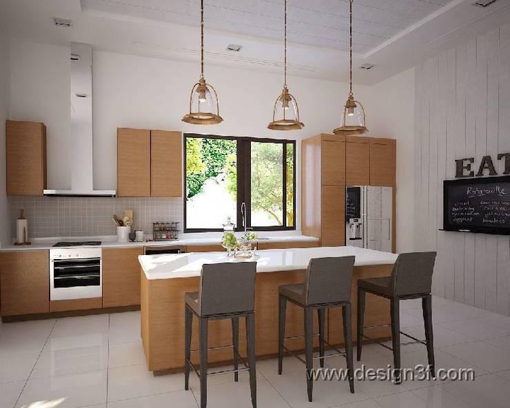 Кухня в современном стиле, г. Берлин: Кухни в . Автор – студия Design3F