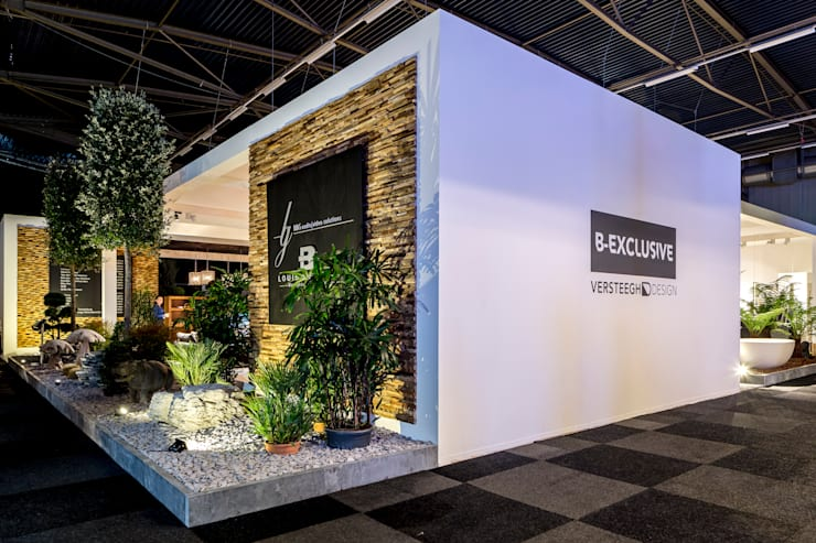 Zij aanzicht van Beurswoning B-Exclusive. :  Exhibitieruimten door B&G Audio Video Solutions BV