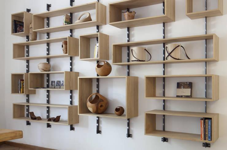 703: Soggiorno in stile  di SLOW WOOD - The Wood Expert
