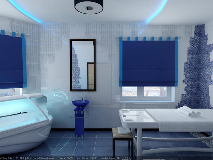 eclectic Spa by Дизайн студия 'Exmod' Павел Цунев