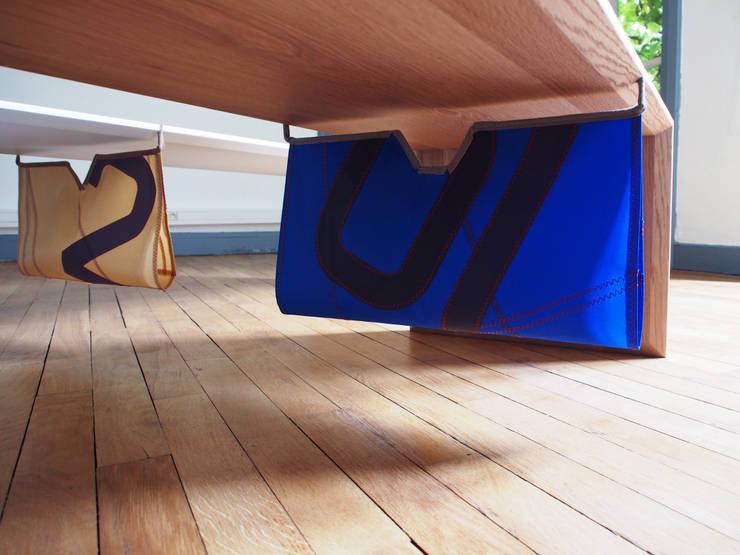 VELATURA: Salon de style  par Alcyone Design