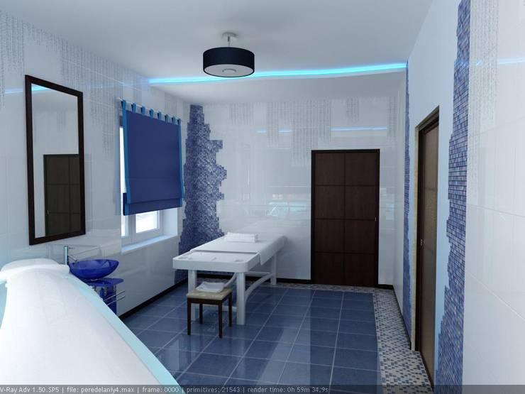 Массажный кабинет: Спа в . Автор – Дизайн студия 'Exmod' Павел Цунев