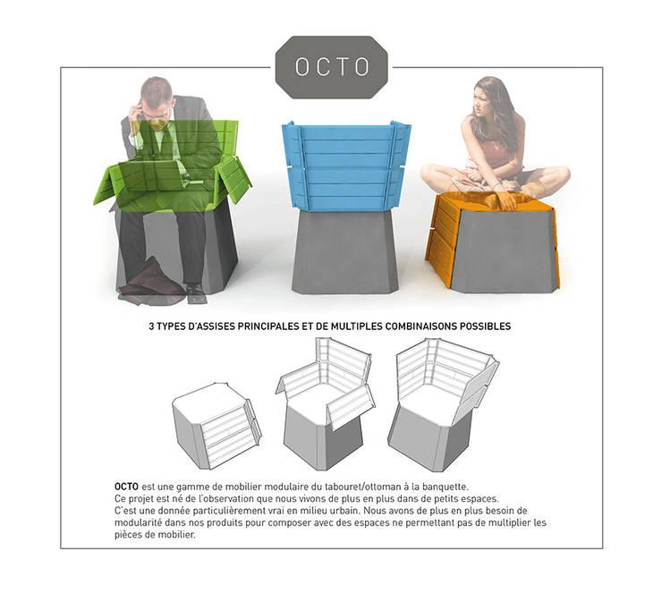 OCTO_9: Salon de style  par Xavier Bance